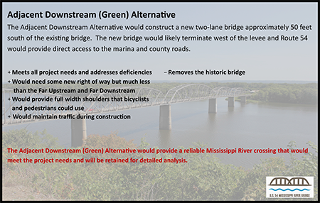 Bridge Alternate - Green Proposal