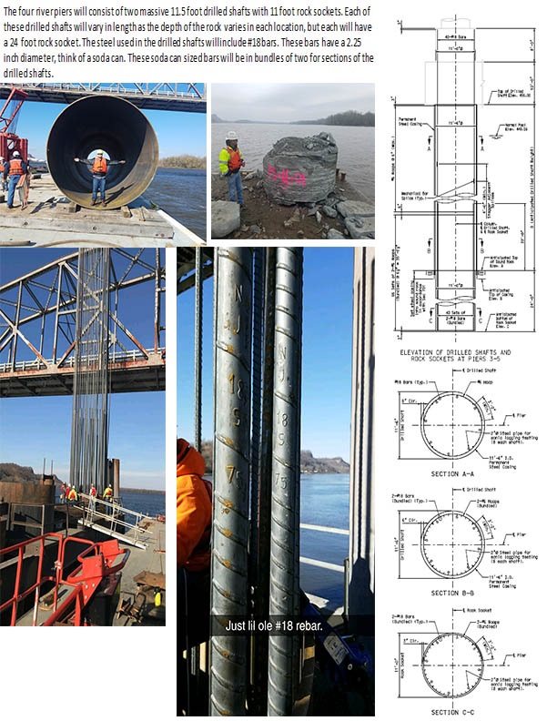 Rebar an shaft plans
